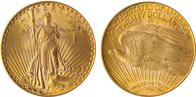 1925 $20 MS63 PCGS