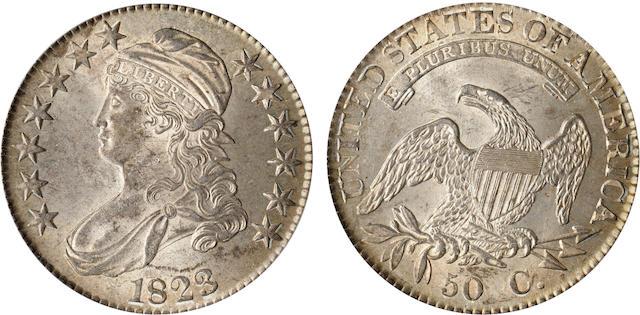 1823 50C MS62 PCGS
