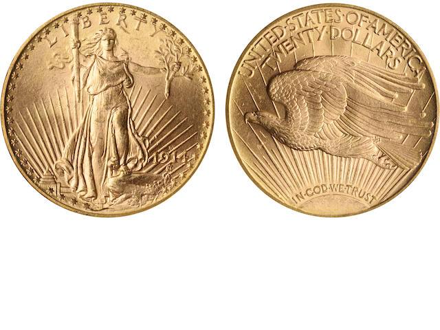 1914-D $20 MS64 NGC