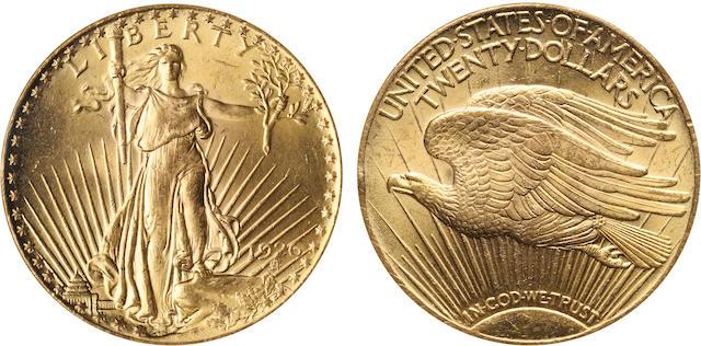 1926 $20 MS64 NGC