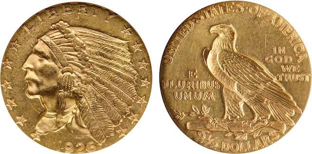 1926 $2.5 MS61 NGC
