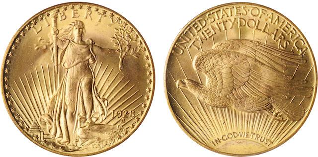 1928 $20 MS66 PCGS