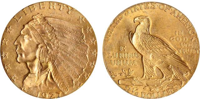 1927 $2.5 MS65 PCGS