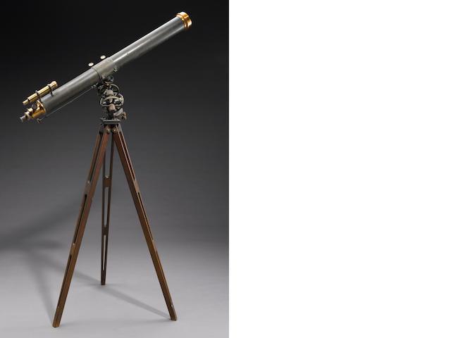 "4 1/2"" Brashear reflector with Warner / Swasey mount"