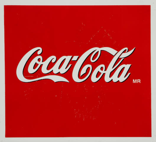 A Mexican Republic Coca-Cola sign,