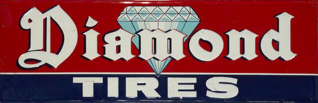 A Diamond tires sign,