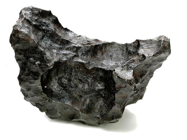 Sculptural Gibeon Meteorite