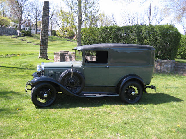 Ex-Harrah Collection,1931 Ford Model A DeLuxe Delivery  Chassis no. A4381388
