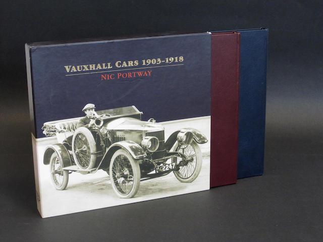 Nic Portway: Vauxhall Cars 1903-1918,