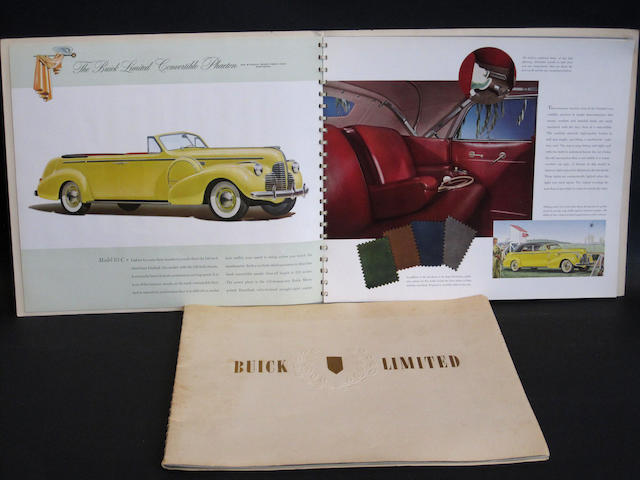 Buick Limited Sales Brochures for 1940 and 1941,