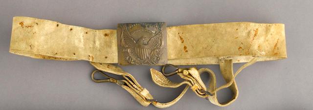 An American officer's sword belt