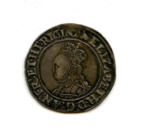 Great Britain, Elizabeth I, 1558-1603, Second Issue (1560-61), Shilling