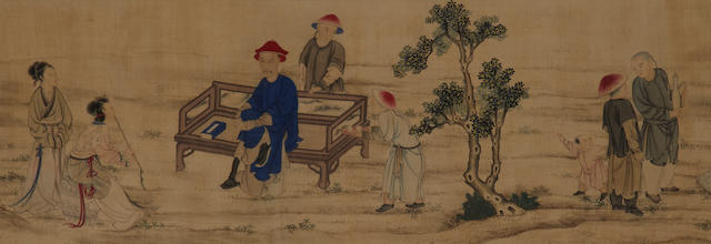 ctivities of the Seasons, handscrollAfter Jin Tinbiao (19th century) Leisure a
