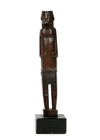 Tsonga Staff Figural Finial, South Africa