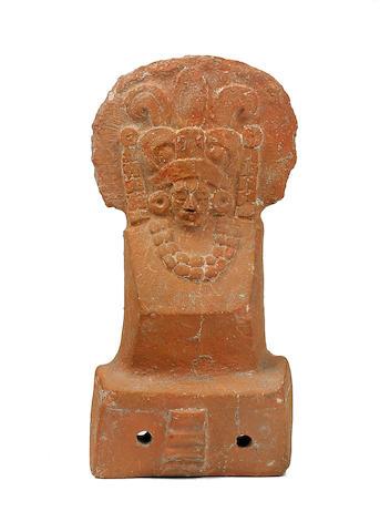 Maya Figure of a Dignitary, Jaina,<BR />Late Preclassic, ca. A.D. 550 - 950