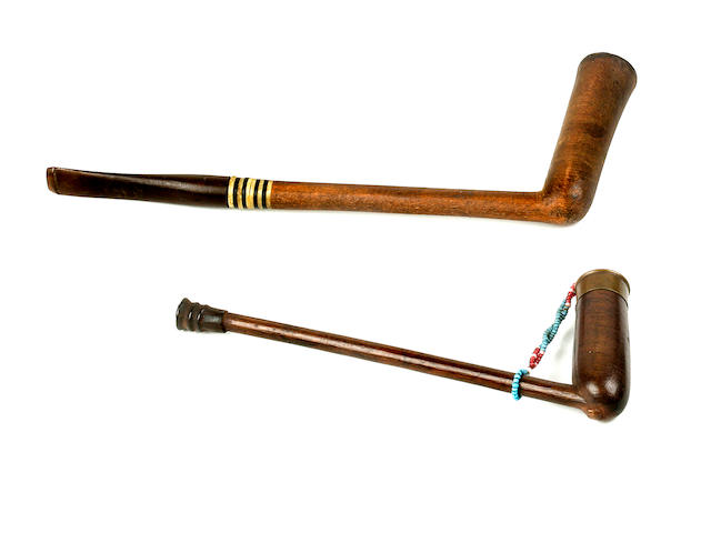 Two Southern Nguni Pipes, South Africa