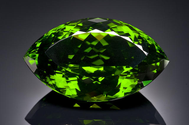 German-cut Stunning and Immense Peridot