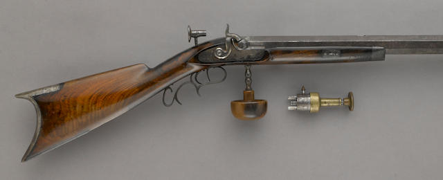 A California percussion target rifle by Adolph Koppikus