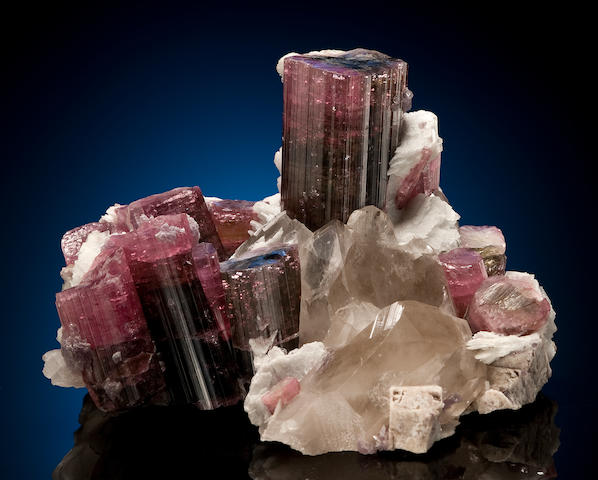 "Rare Pink Tourmaline in Matrix--""A California Classic"""