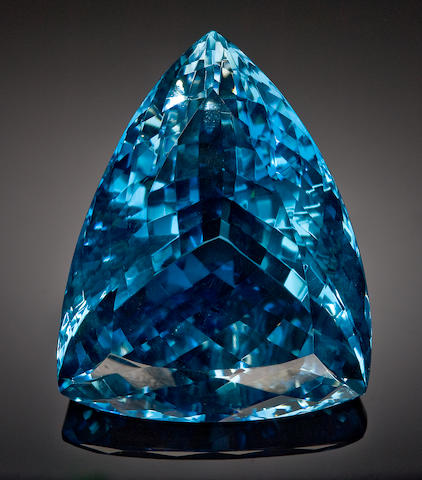 Very Large and Impressive Blue Topaz