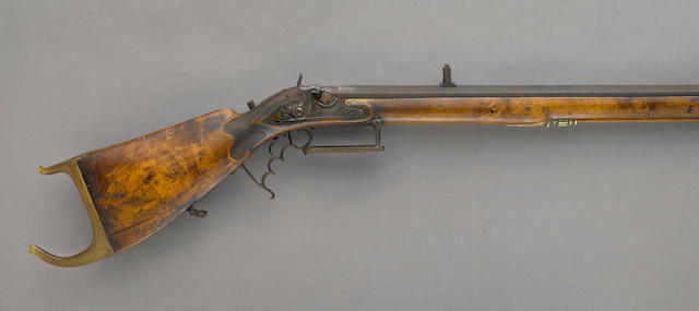 A continental percussion target rifle