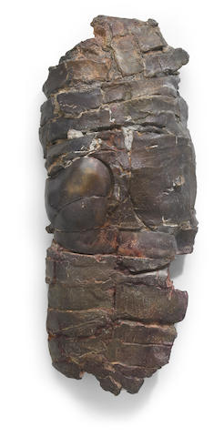 Stephen De Staebler (born 1933) Wall Torso with Ribs II, 1988 24 x 10 x 4 1/2in (61 x 25.4 x 11.4cm)
