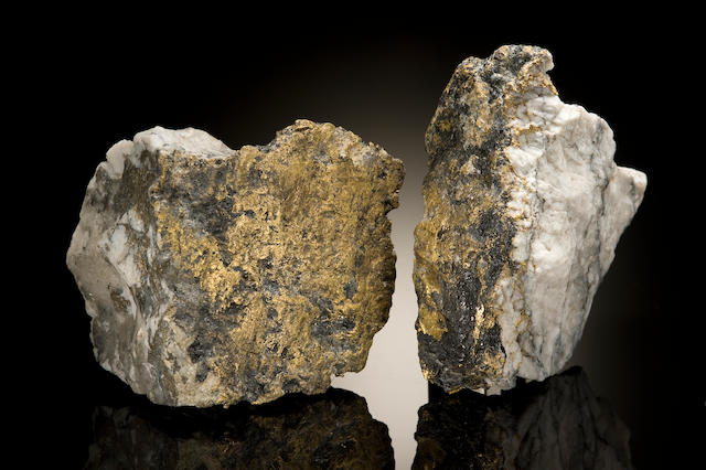 Two Gold-in-Quartz Specimens