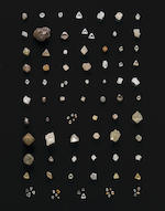 Collection of Rough Diamond Crystals, World Localities
