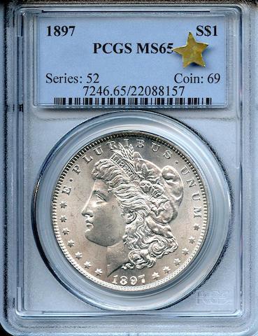 1897 $1 MS65 PCGS