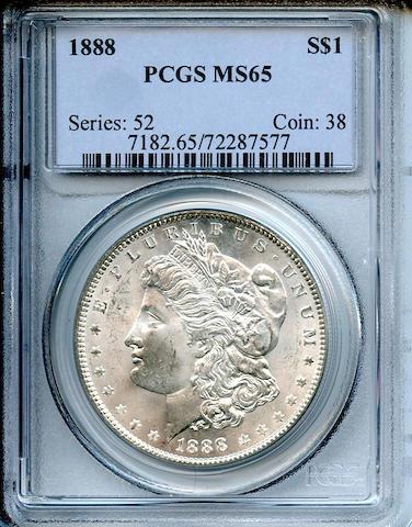 1888 S$1 MS65 PCGS