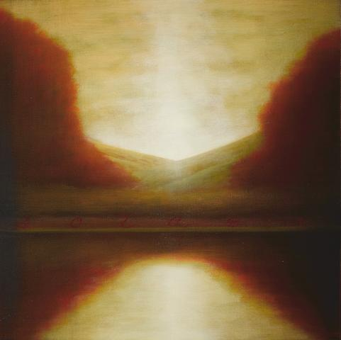 Wade Hoefer (born 1951) Solage, 2008 24 x 24in (61 x 61cm)