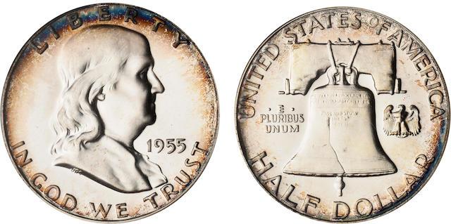 1955 50C Proof 68 Cameo NGC
