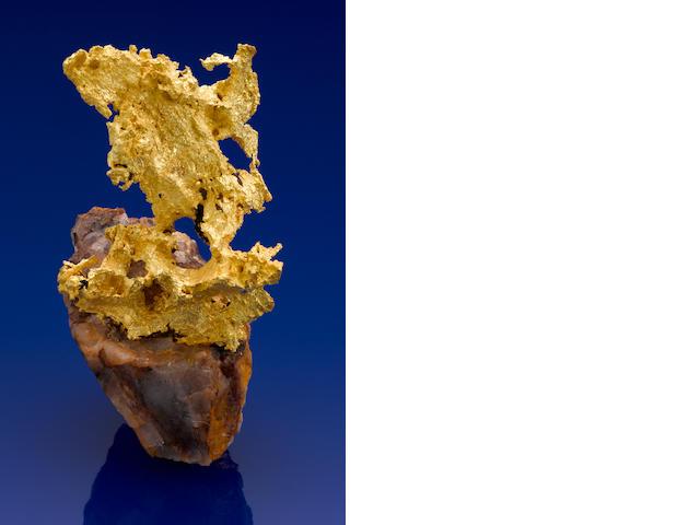 Semi-crystalline Gold On Quartz, Idaho Pit, Kalgoorlie, WA 216.3gm Gross (6.95 oz)