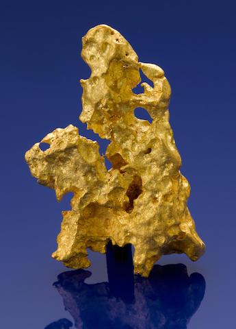 "Gold Nugget--""Man on a Horse"""