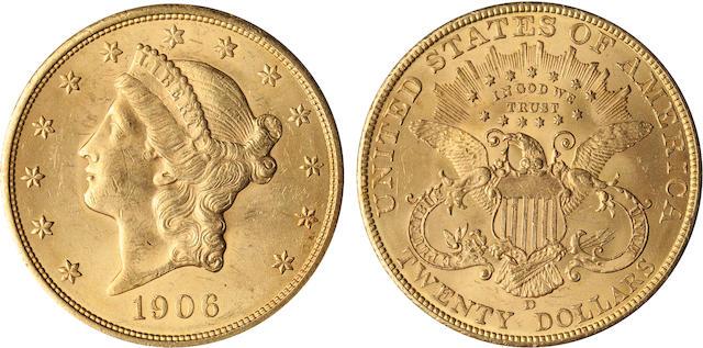 1906-D $20