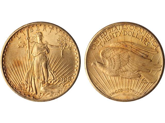 1908-S $20