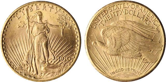 1910-S $20