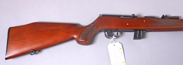 A Voere Model 2005 semi-automatic rifle