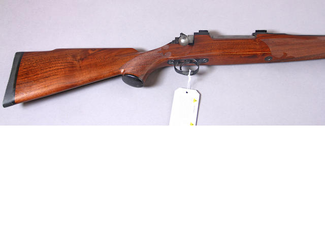 A .300 H&H custom Mauser action sporting rifle