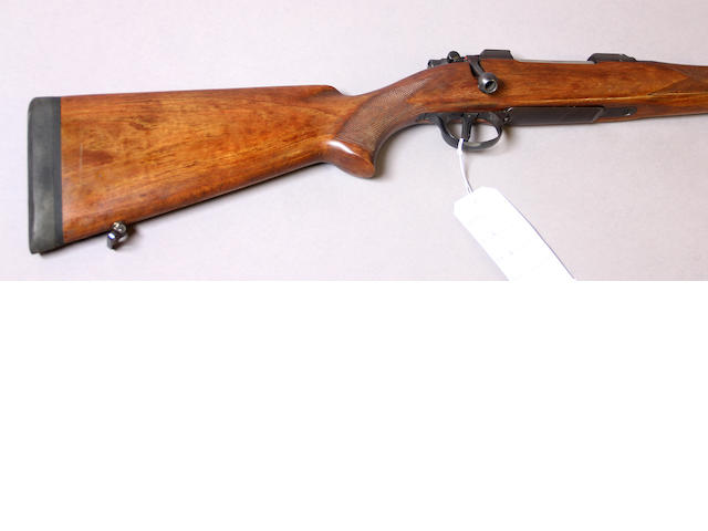 A .270 Weatherby Brno Model ZKK600 bolt action rifle