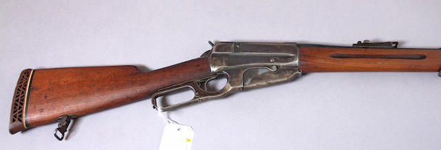 A Winchester Model 1895 Russian Contract lever action musket