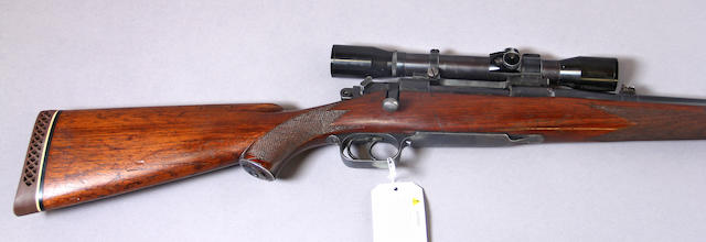 A .30-06 Newton First Type Standard bolt action sporting rifle