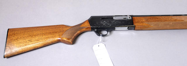 A 12 gauge Browning B2000 Standard semi-automatic shotgun