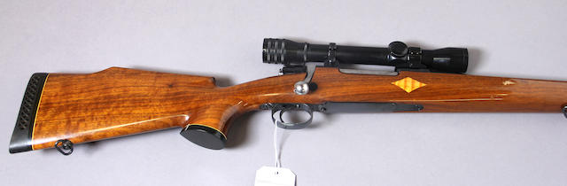 A custom .308 Norma Apex Mauser action sporting rifle