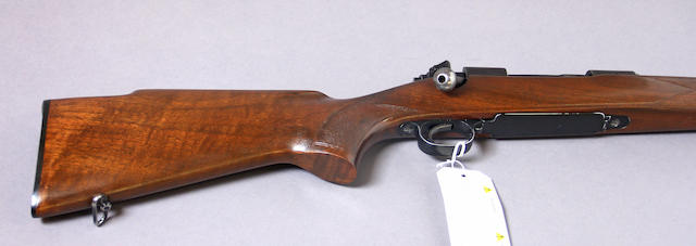 A .243 Winchester Model 70 Featherweight bolt action sporting rifle