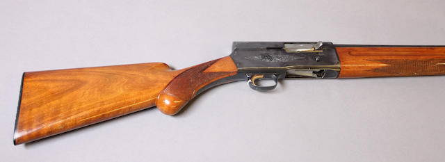 A 12 gauge Browning Light Twelve Auto-5 semi-automatic shotgun