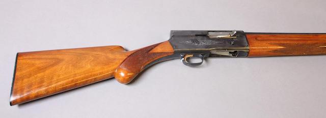 A 12 gauge Browning Light Twelve Auto-5 semi-automatic shotgun