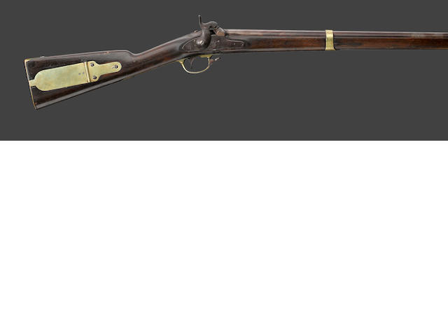A U.S. Model 1841 Harpers Ferry percussion rifle