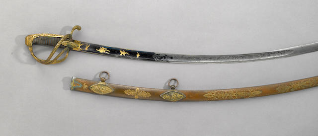 A deluxe French Empire general officer's saber