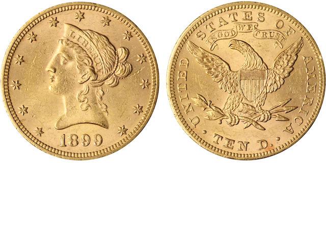 1899 $10